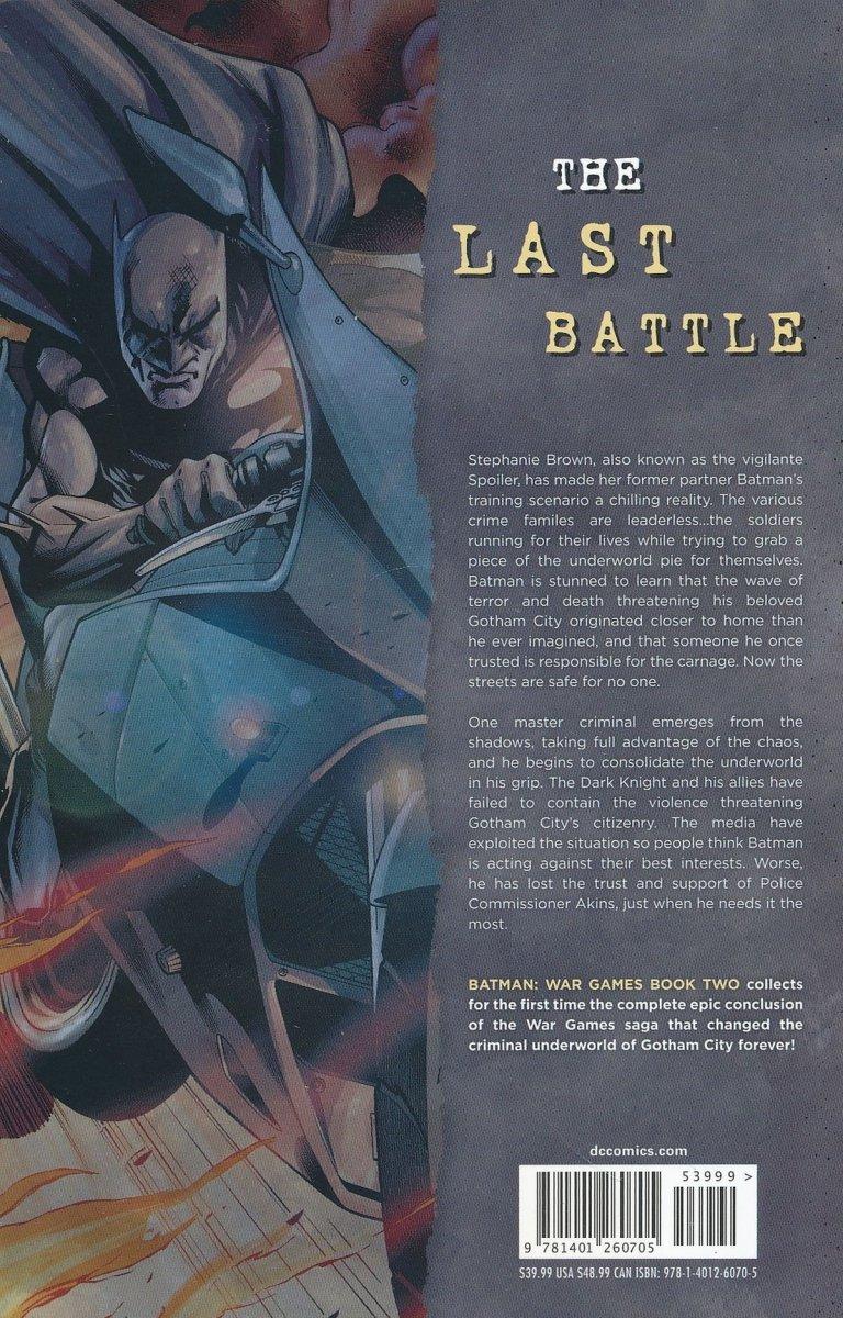 BATMAN WAR GAMES VOL 02 SC (Oferta ekspozycyjna)