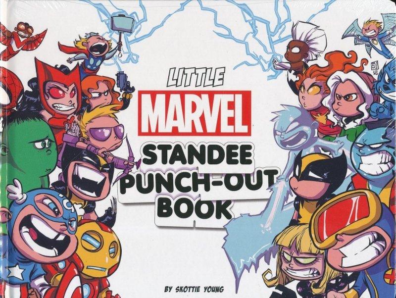 LITTLE MARVEL STANDEE PUNCH-OUT BOOK TP (Oferta ekspozycyjna)