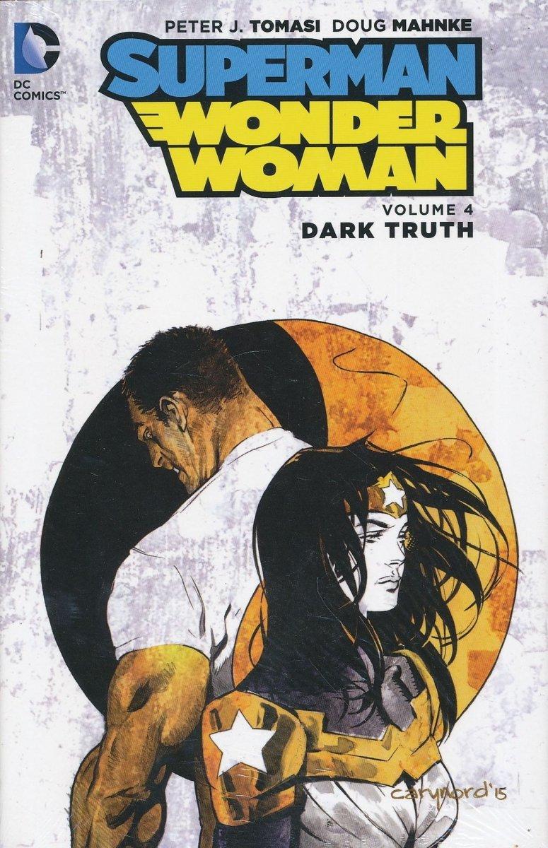 SUPERMAN WONDER WOMAN VOL 04 DARK TRUTH HC (Oferta ekspozycyjna)