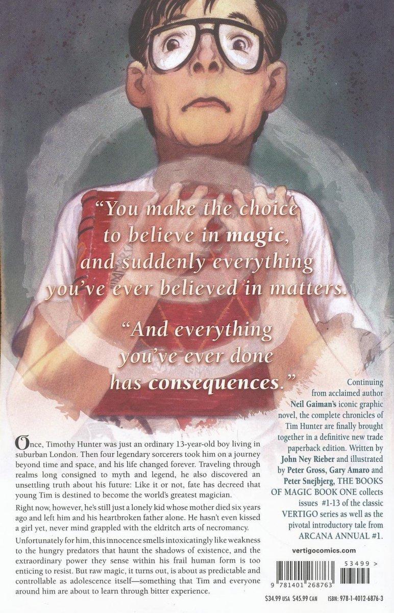 BOOKS OF MAGIC VOL 01 SC (Oferta ekspozycyjna)
