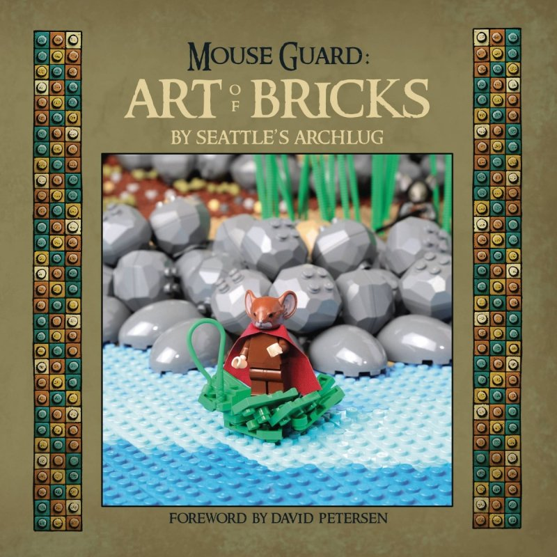 MOUSE GUARD ART OF BRICKS HC
