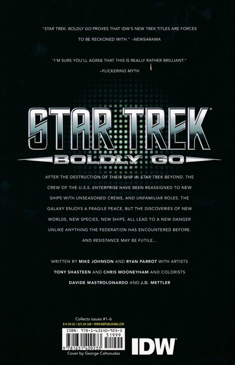 STAR TREK BOLDLY GO TP VOL 01 (Oferta ekspozycyjna)