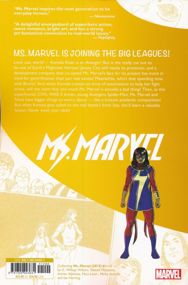 MS MARVEL GN TP ARMY OF ONE