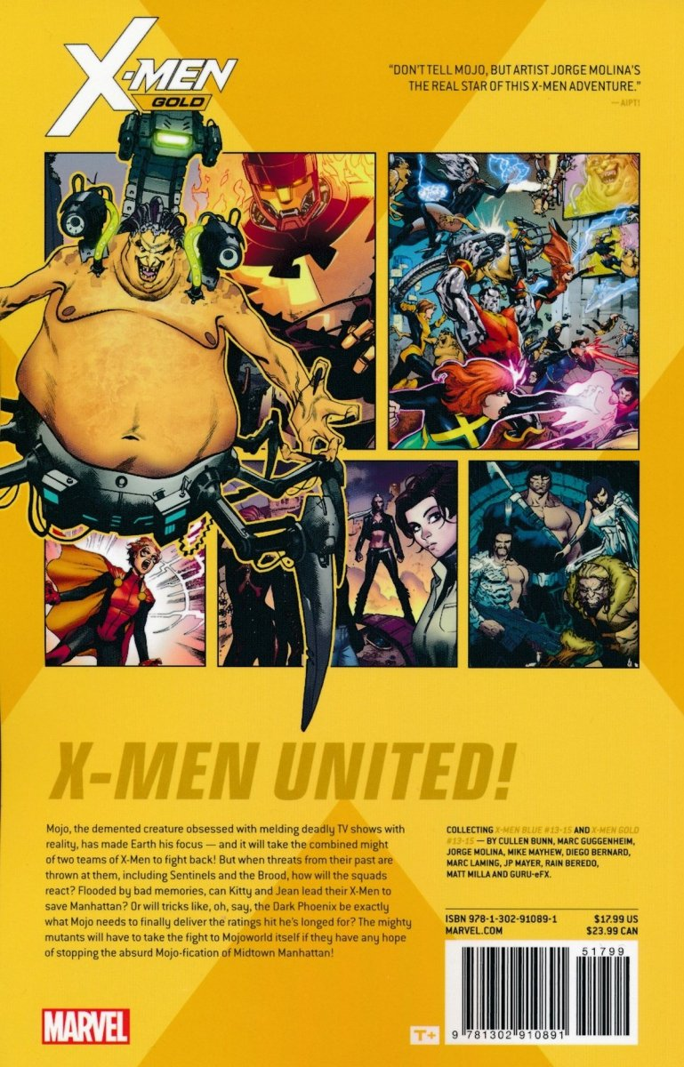 X-MEN GOLD TP VOL 03 MOJO WORLDWIDE
