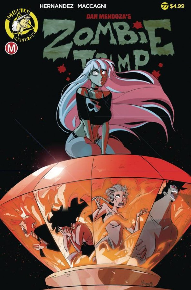 ZOMBIE TRAMP ONGOING #77 CVR A MACCAGNI
