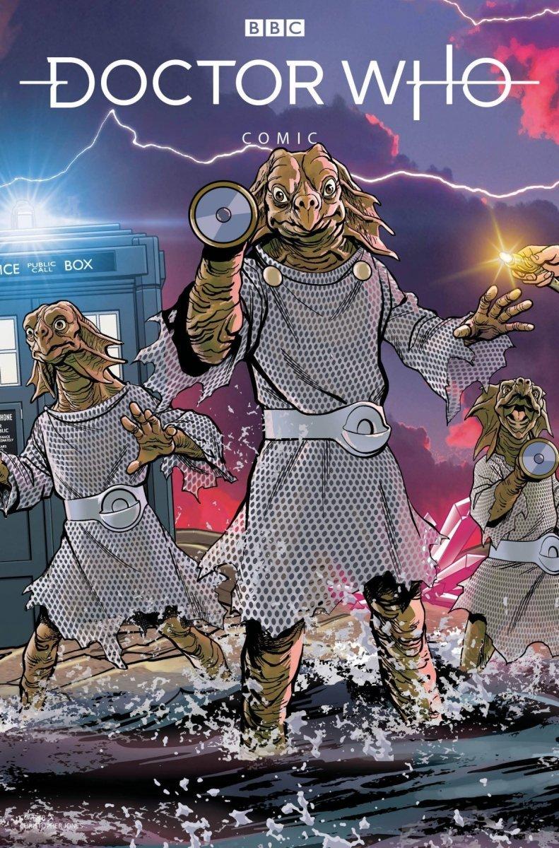 DOCTOR WHO COMICS #3 CVR C JONES