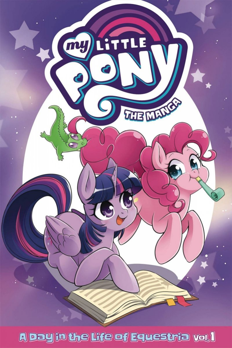 MY LITTLE PONY MANGA VOL 01 DAY IN LIFE EQUESTRIA