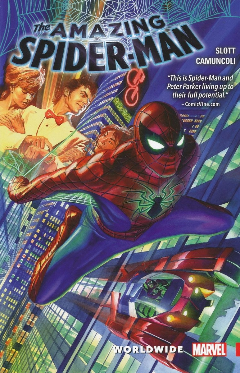 AMAZING SPIDER-MAN WORLDWIDE TP VOL 01 (Oferta ekspozycyjna)