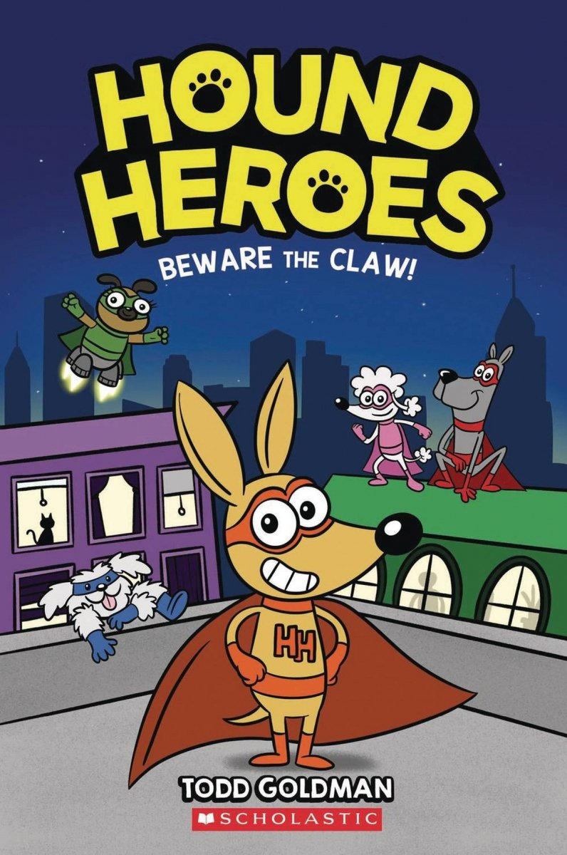 HOUND HEROES SC GN VOL 01 BEWARE THE CLAW