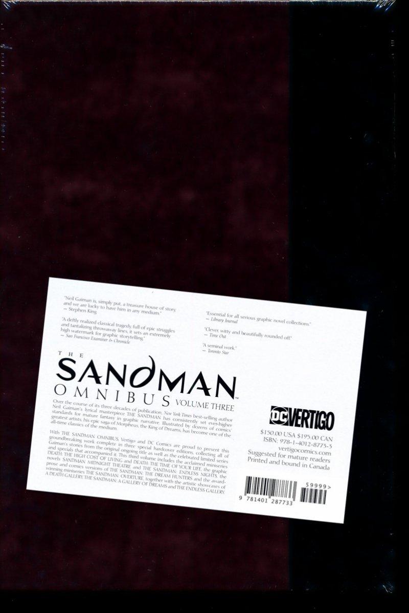 SANDMAN VOL 03 HC (OMNIBUS) (Oferta ekspozycyjna)