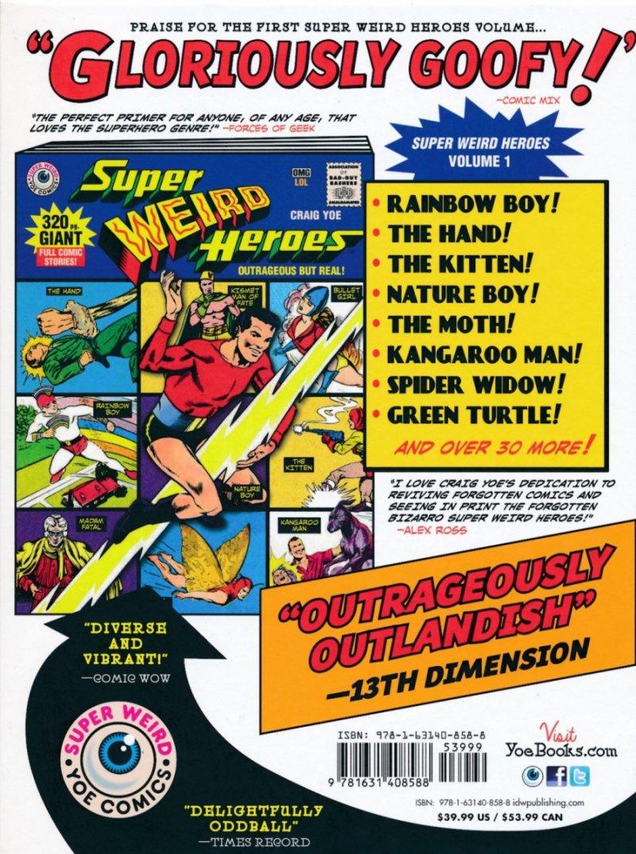SUPER WEIRD HEROES HC VOL 02 PREPOSTEROUS BUT TRUE (Oferta ekspozycyjna)