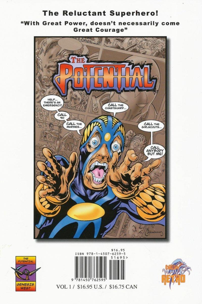 POTENTIAL GN VOL 01 TWO PERCENT HERO (Oferta ekspozycyjna)