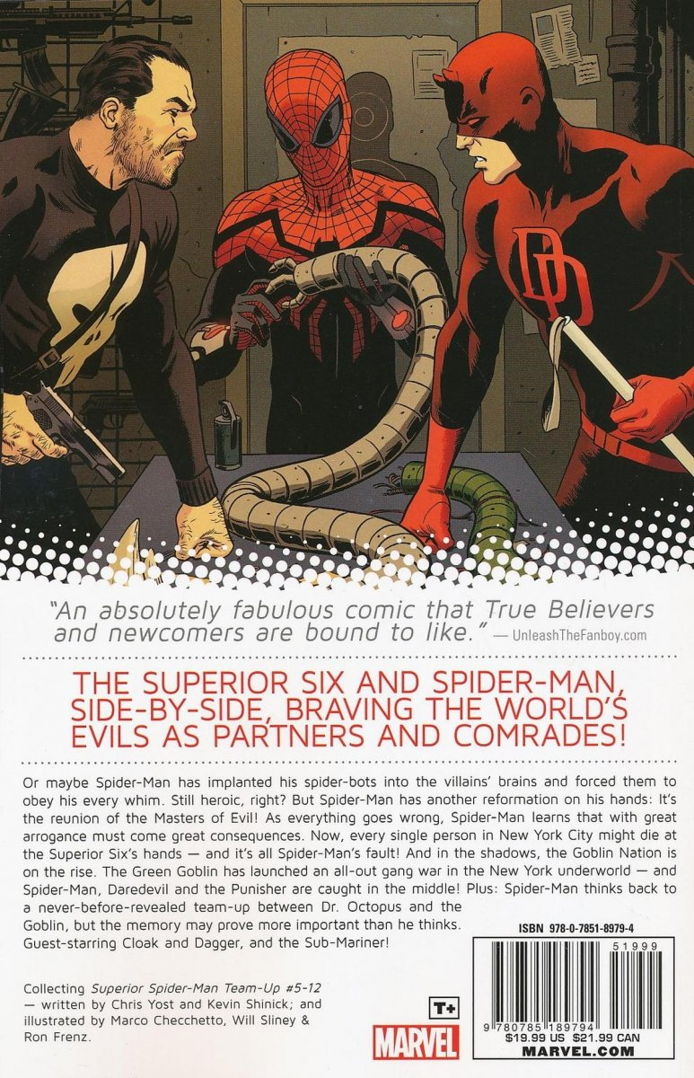 SUPERIOR SPIDER-MAN TEAM-UP TP VOL 02 SUPERIOR SIX (Oferta ekspozycyjna)