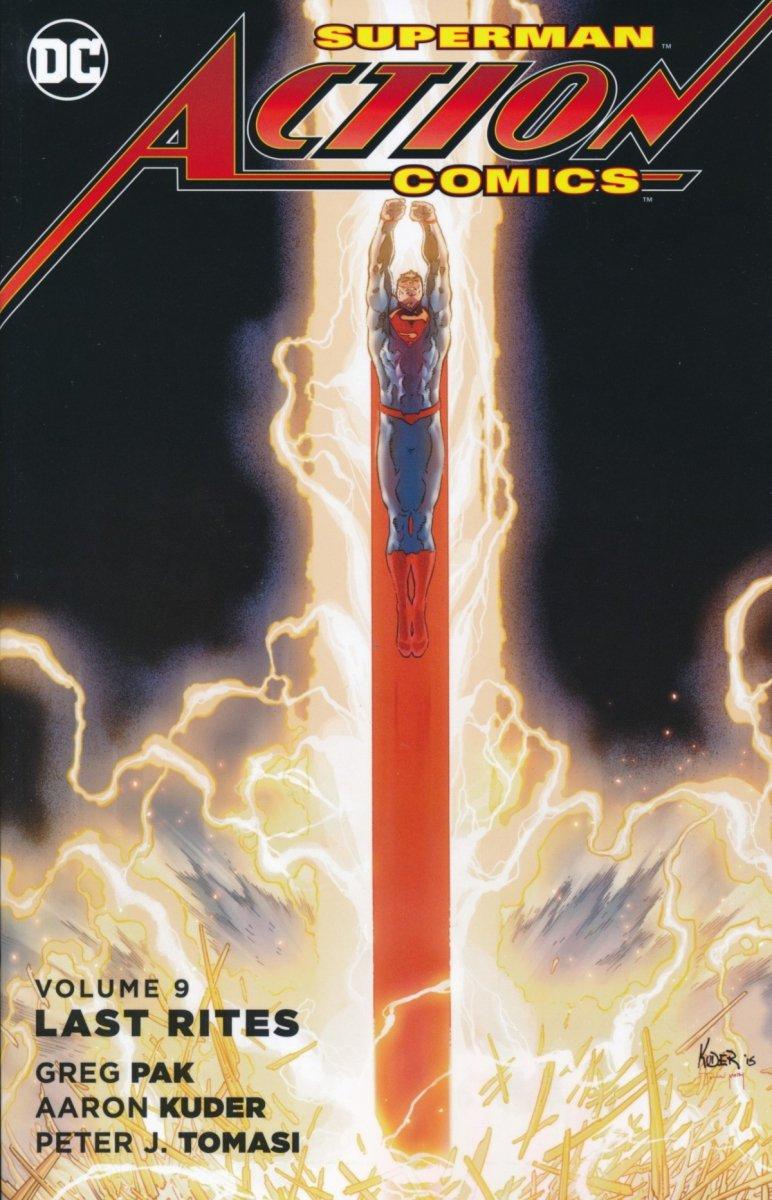 SUPERMAN ACTION COMICS VOL 09 LAST RITES SC (Oferta ekspozycyjna)