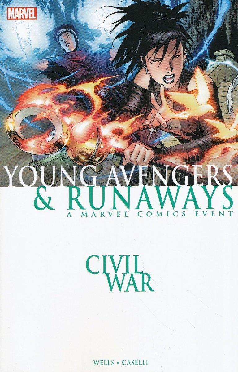 CIVIL WAR YOUNG AVENGERS AND RUNAWAYS TP NEW PTG (Oferta ekspozycyjna)