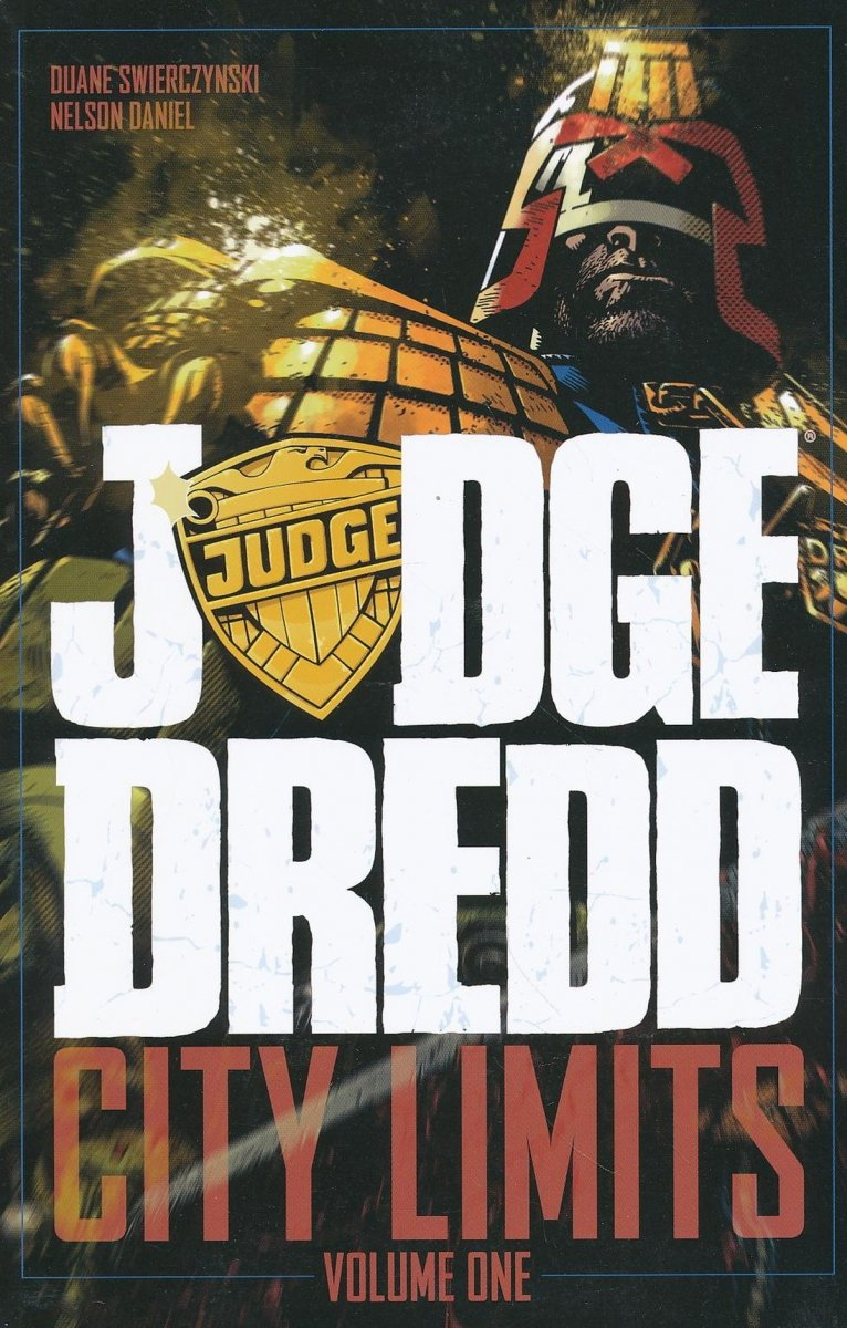 JUDGE DREDD CITY LIMITS TP VOL 01 (Oferta ekspozycyjna)
