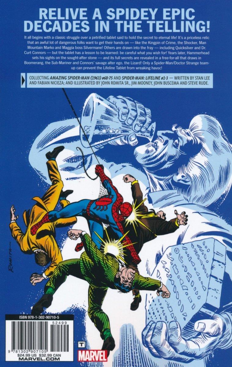 SPIDER-MAN LIFELINE TABLET SAGA TP (Oferta ekspozycyjna)