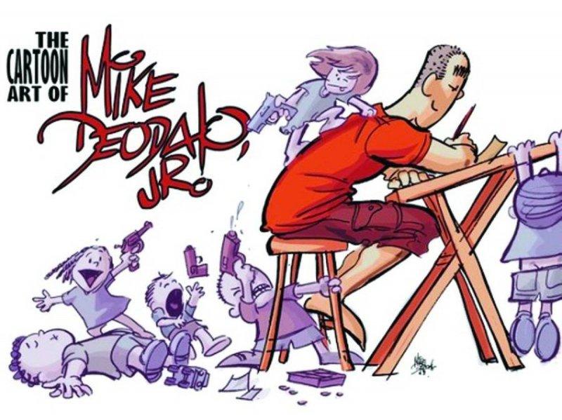 CARTOON ART MIKE DEODATO JR HC