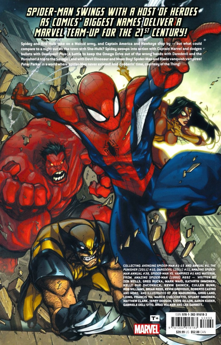 AVENGING SPIDER-MAN TP COMPLETE COLLECTION (Oferta ekspozycyjna)