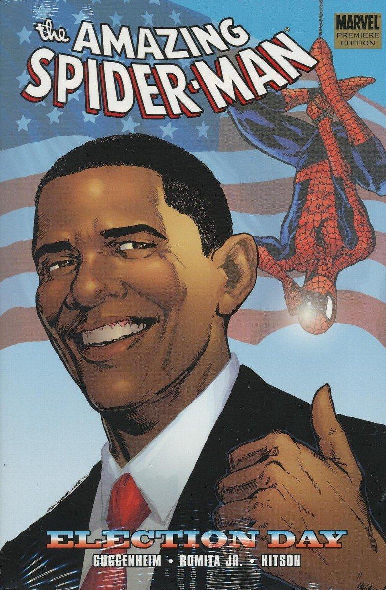 SPIDER-MAN ELECTION DAY PREM HC (Oferta ekspozycyjna)