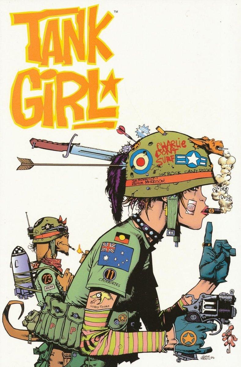 TANK GIRL VOL 02 SC (Oferta ekspozycyjna)