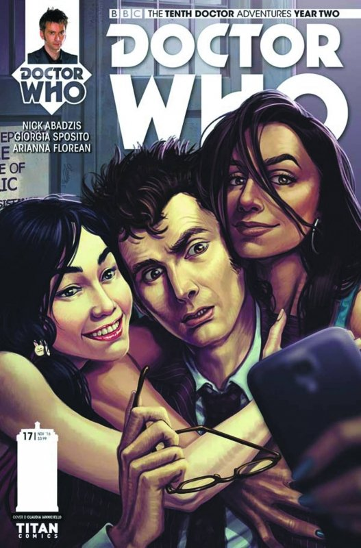 DOCTOR WHO 10TH YEAR TWO #17 CVR D IANNICIELLO