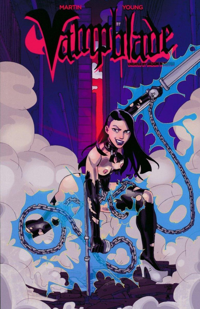 VAMPBLADE I AM VAMPBLADE SC (COVER C) (Oferta ekspozycyjna)