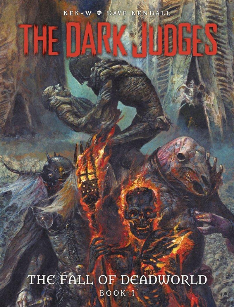 DARK JUDGES FALL OF DEADWORLD HC VOL 01