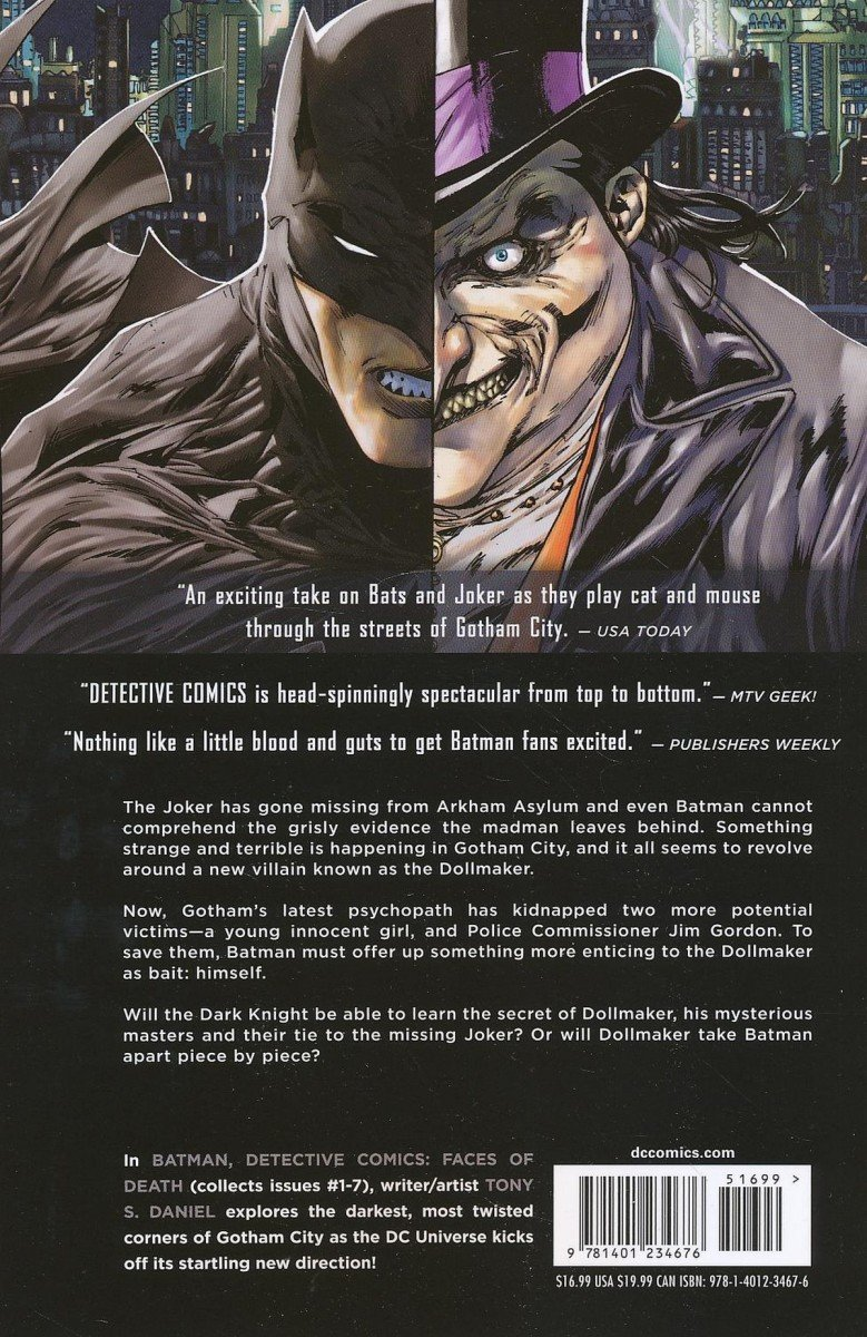 BATMAN DETECTIVE COMICS VOL 01 FACES OF DEATH SC (Oferta ekspozycyjna)