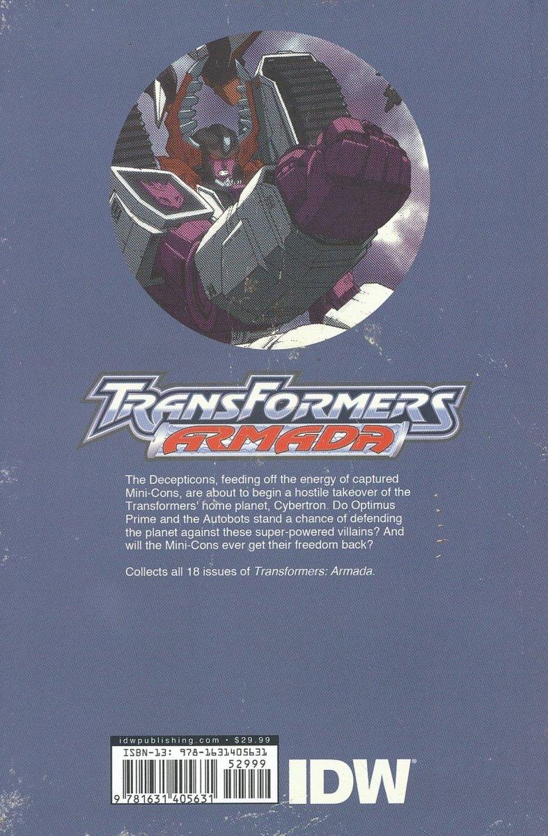 TRANSFORMERS ARMADA OMNIBUS TP (Oferta ekspozycyjna)