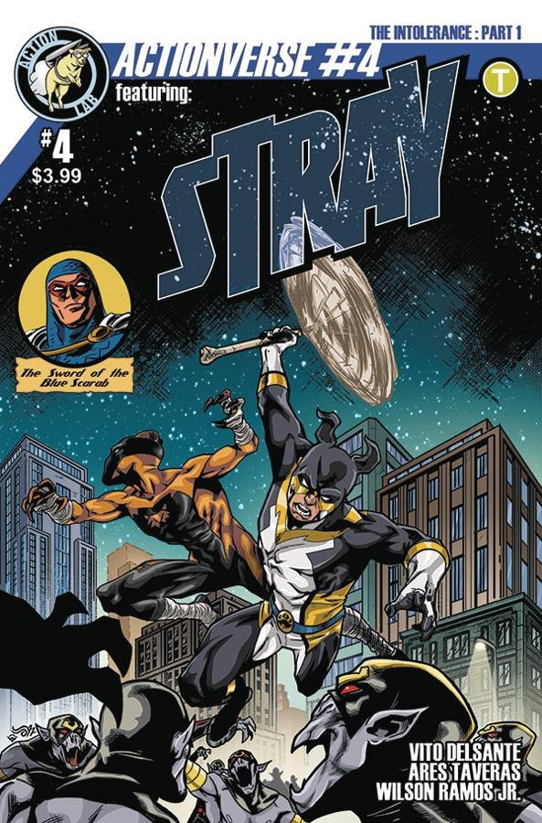 ACTIONVERSE ONGOING #4 STRAY CVR B RUIZ