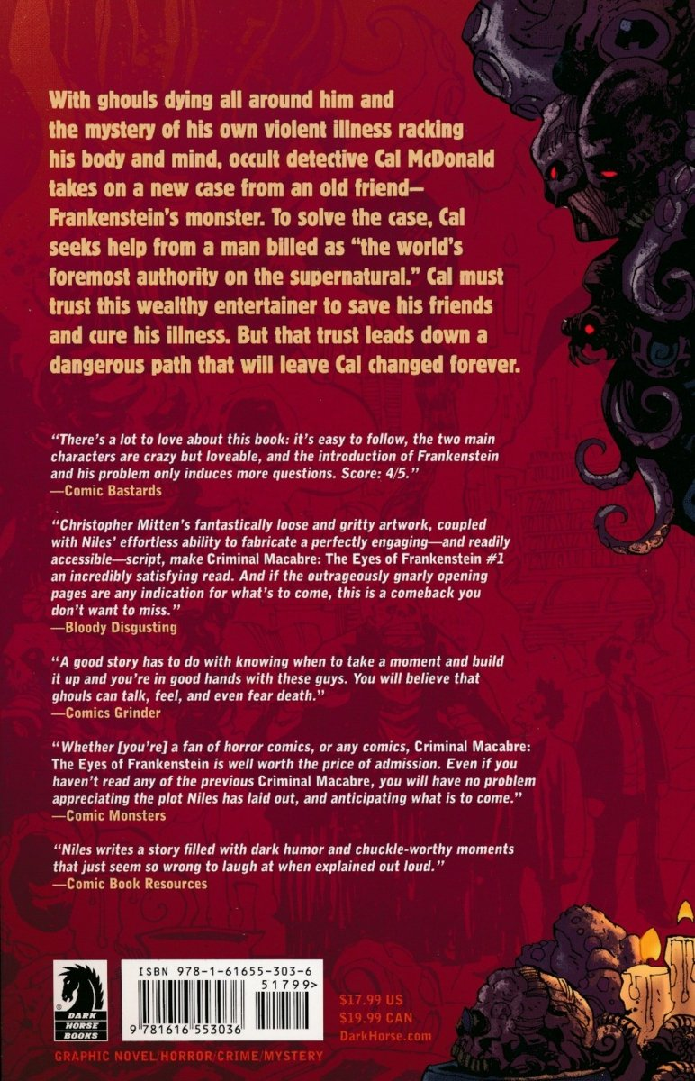 CRIMINAL MACABRE EYES OF FRANKENSTEIN TP (Oferta ekspozycyjna)