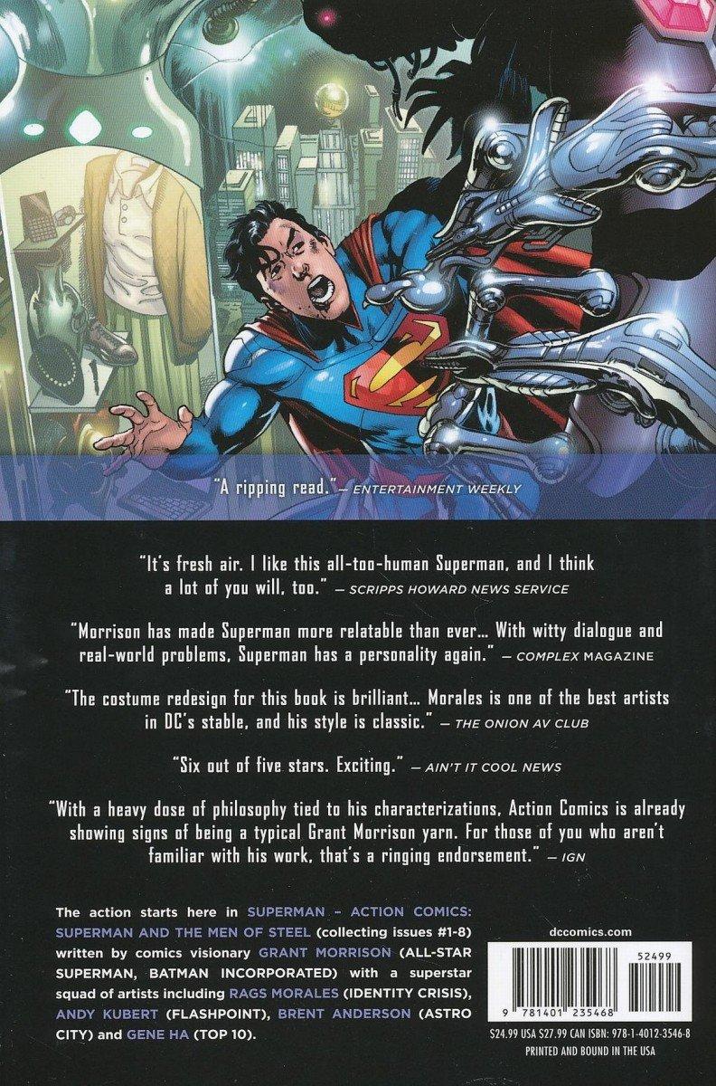 SUPERMAN ACTION COMICS VOL 01 SUPERMAN AND THE MEN OF STEEL HC (Oferta ekspozycyjna)