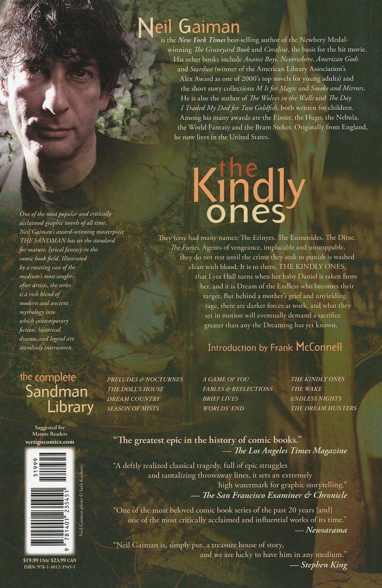 SANDMAN VOL 09 THE KINDLY ONES SC (OLD EDITION) (Oferta ekspozycyjna)