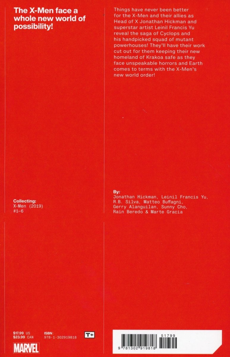 X-MEN BY JONATHAN HICKMAN TP VOL 01 (Oferta ekspozycyjna)