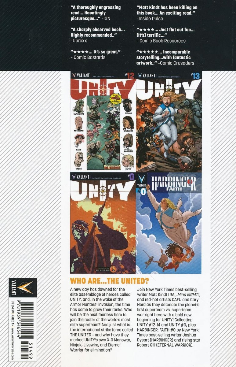 UNITY TP VOL 04 THE UNITED (Oferta ekspozycyjna)