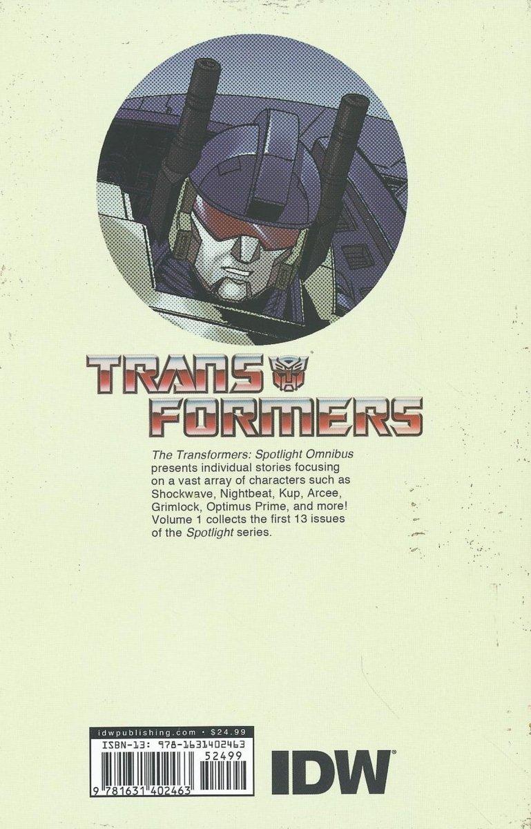 TRANSFORMERS SPOTLIGHT OMNIBUS TP VOL 01 (Oferta ekspozycyjna)
