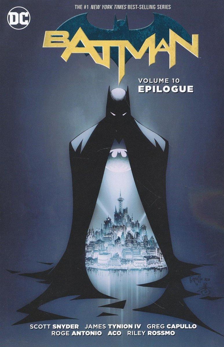 BATMAN VOL 10 EPILOGUE SC (Oferta ekspozycyjna)