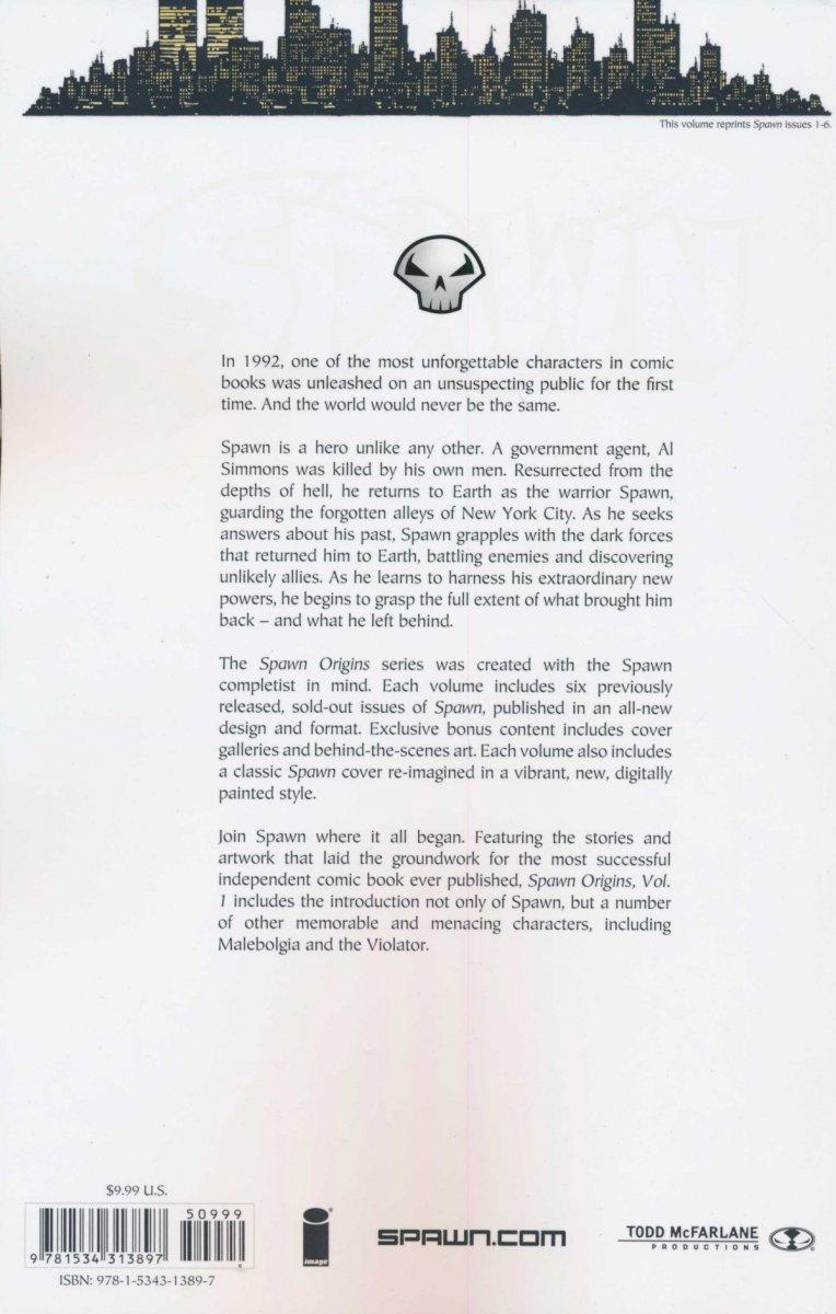 SPAWN ORIGINS COLLECTION VOL 01 SC (NEW EDITION)