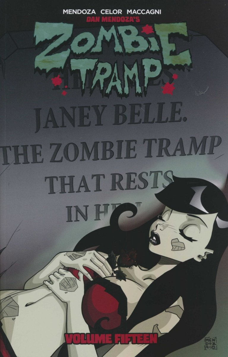 ZOMBIE TRAMP THE DEATH OF ZOMBIE TRAMP SC