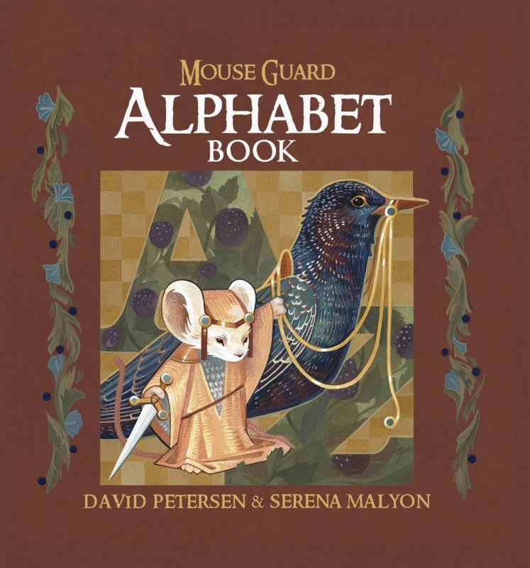 MOUSE GUARD ALPHABET BOOK HC