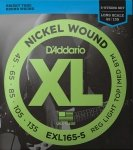 Struny D'ADDARIO Nickel EXL165-5 (45-135) 5str.