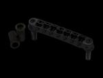 Mostek tune-o-matic 7str TONEPROS TP7 6,3mm (BK)