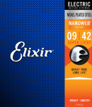 Struny ELIXIR NanoWeb Nickel Plated (9-42)