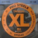 Struny D'ADDARIO XL ProSteels EPS540 (10-52)