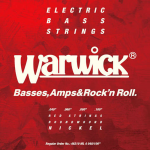 Struny do basu WARWICK Nickel Plated (40-100)