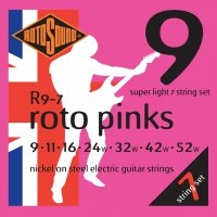 Struny ROTOSOUND Roto Pinks R9-7 (9-52) 7str.