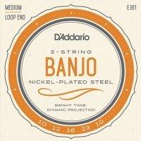 Struny do banjo 5str D'ADDARIO EJ61 (10-23)