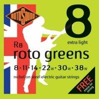 Struny ROTOSOUND Roto Greens R8 (8-38)