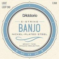 Struny do banjo 5str D'ADDARIO EJ60 (09-20)